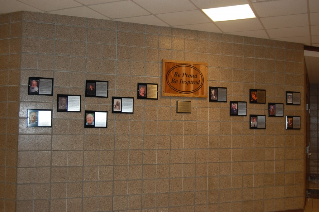 Inspiration Wall 2014