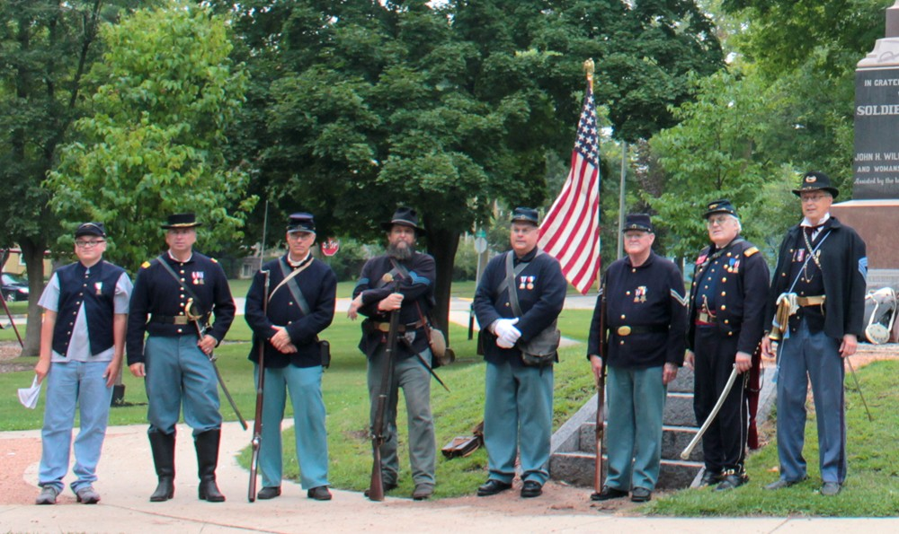 Rededication of the Nathan Strong Park Civil War Monument – Images
