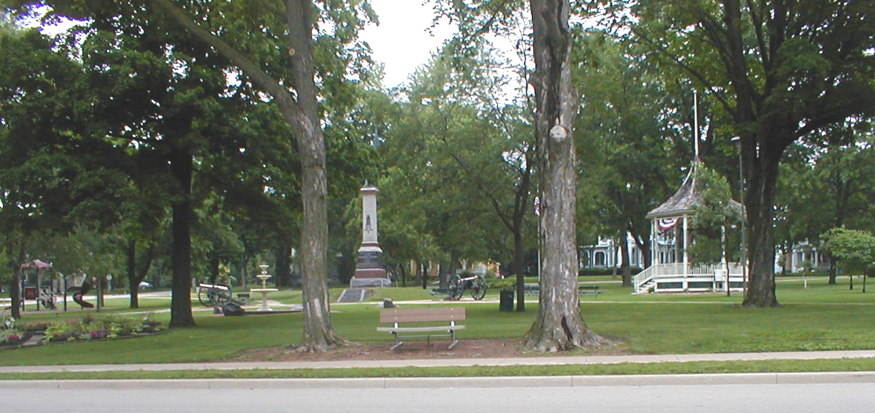 Nathan Strong Park on Huron Street