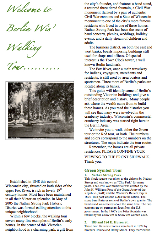 Green Walking Tour